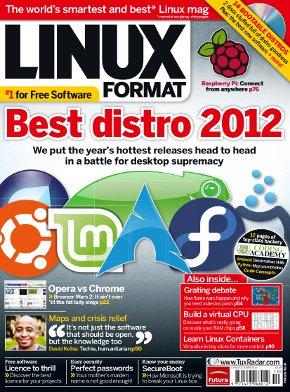 LinuxFormat titulní stránka